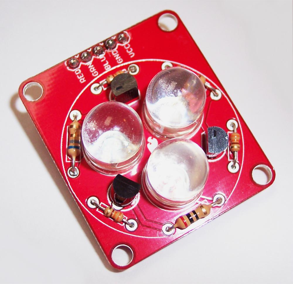 Tri-Color LED Breakout Quickstart Guide - SparkFun Electronics