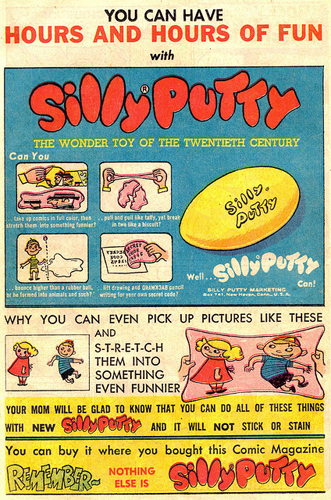 "Unfortunately ""SillyPutty"" never really caught on"