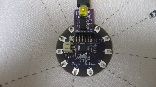 Beginning lilypad arduino sparkfun electronics